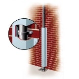 Downpipe Protector Galvanised 220mm x 250mm x 1.5m