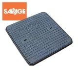 Cast Iron Access Manhole Cover and Frame 600 x 600mm - A15 Class