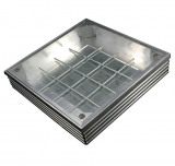 EcoGrid Aluminium Double-Seal Recess Manhole Cover - 1000 x 1000 x 68mm