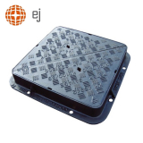 Cast Iron Manhole Cover and Frame 900L x 900W x 100H - D400 Class