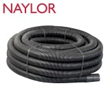 Naylor MetroCoil Singlewall Ducting Black 60mm x 100m