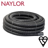 Naylor Kitemarked Unperforated Land Drain Coil 80mm x 100m