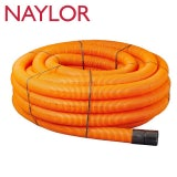 Naylor MetroCoil Singlewall Ducting Orange 105mm x 40m