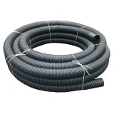 Perforated Land Drain Coil Pipe 160mm x 50m