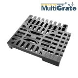 Universal Gully Grid Composite Re-Sizable Temporary Wrekin Multigrate